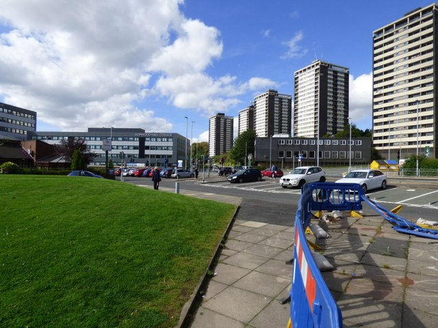 College and flats