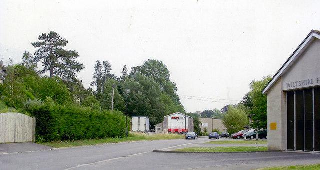 Site of Malmesbury station, 2006