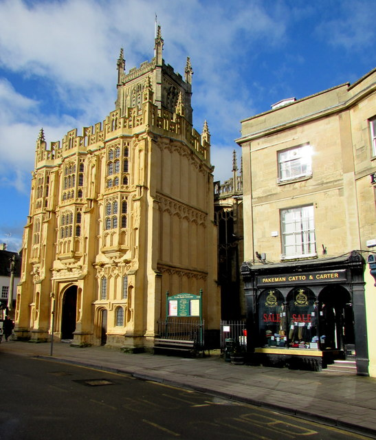 South side of Grade I Listed Cirencester Parish Church