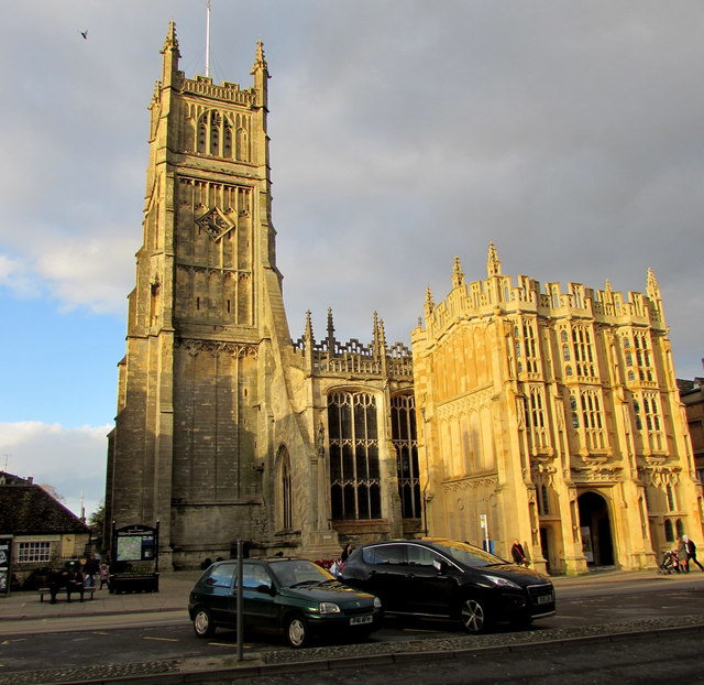 Grade I Listed Cirencester Parish Church