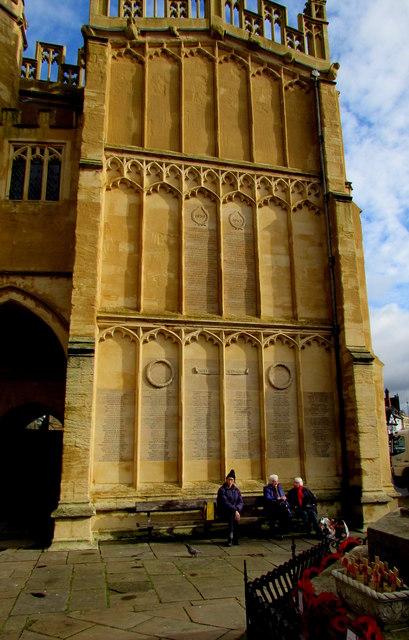 Cirencester War Memorial Rolls of Honour
