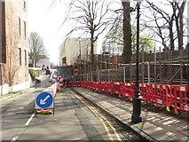 SJ4066 : City Walls Road, Chester by Graham Robson