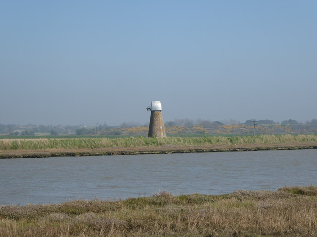 Old windpump on Reydon Marshes