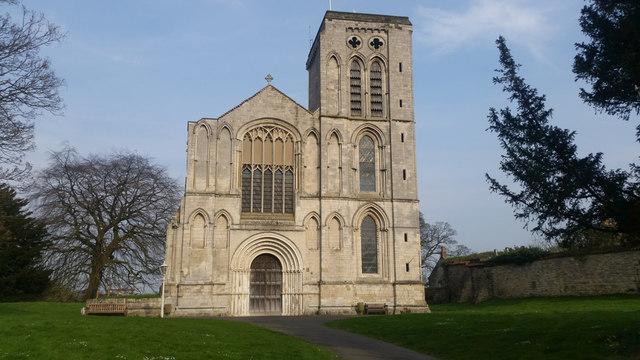 St Mary's Priory main entrance