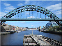 NZ2563 : The Tyne Bridge, The Sage, The Millennium Bridge, and The Baltic by Mike Quinn