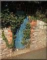 SX9064 : Door in wall, Teignmouth Road, Torquay by Derek Harper
