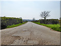 TL6451 : Road, former RAF Wratting Common by Robin Webster