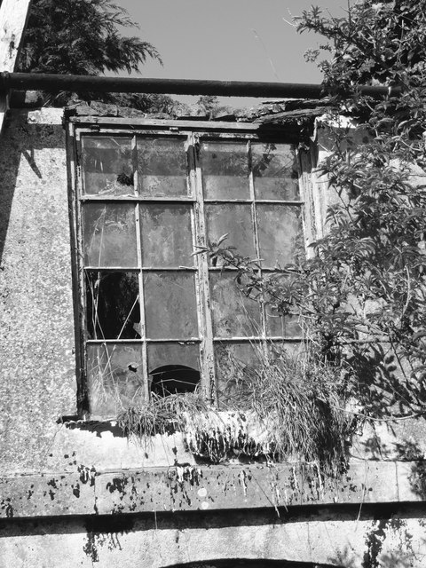 Upstairs window, Tinker's House