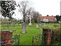 SE5941 : Stillingfleet Cemetery by Graham Hogg