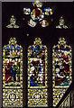 TA1767 : Stained glass window, Bridlington Priory by Julian P Guffogg