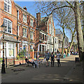 SK5804 : Leicester: Sunday afternoon in New Walk by John Sutton