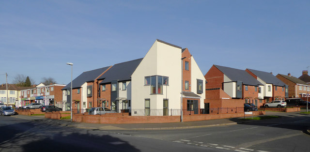 Modern apartments in Penn, Wolverhampton