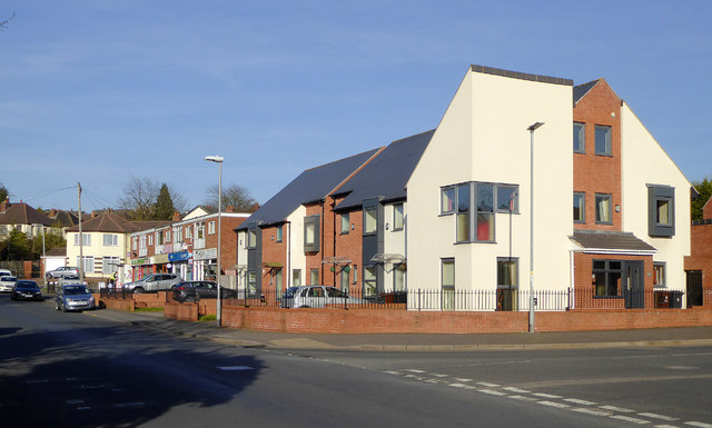 Modern housing in Penn, Wolverhampton