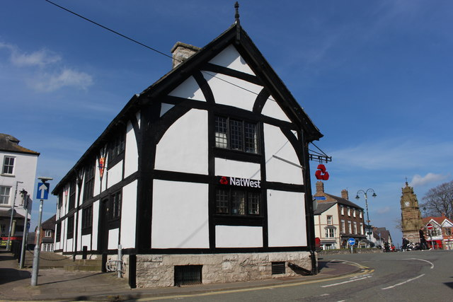 Nat West branch in Ruthin