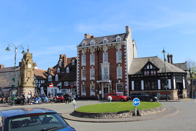 The Castle Hotel (Wetherspoon's) in Ruthin