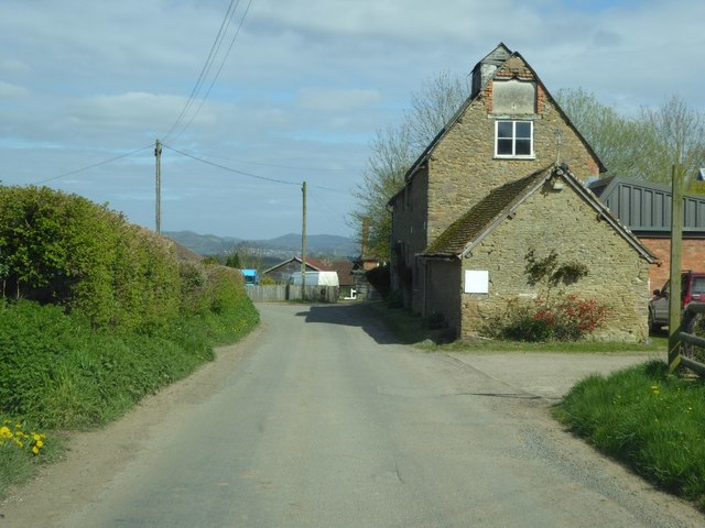 Converted farm building in Rushall