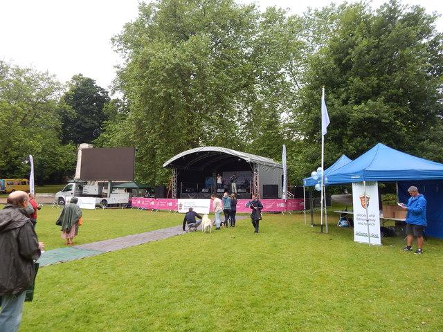 Christchurch Park music day 2015