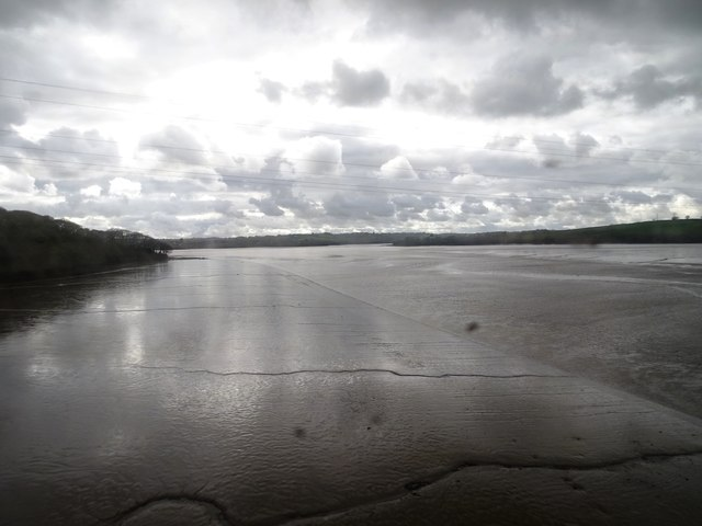 Mudflats of River Tavy