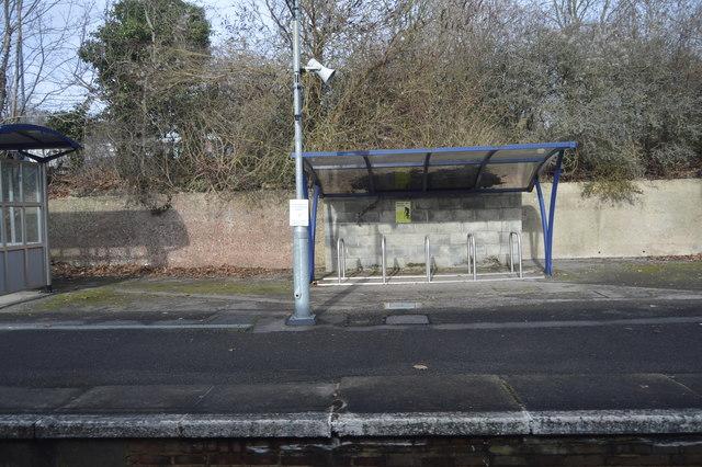 Bike Shelter, Dorking West Station