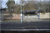 TQ1549 : Bike Shelter, Dorking West Station by N Chadwick