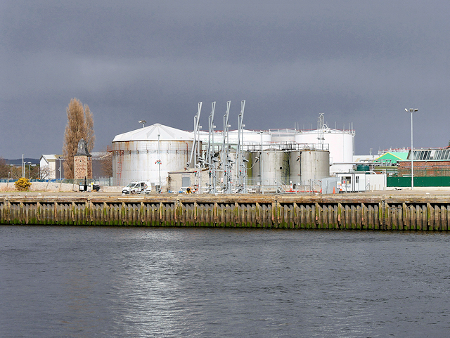 Inverness Oil Storage Terminal