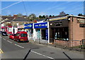 ST2994 : Commercial Street shops, Old Cwmbran by Jaggery