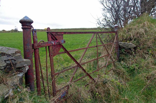 Old gate by the Begoade Rd