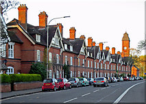 SK5802 : Leicester: gas workers' houses on Aylestone Road by John Sutton