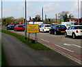 ST3037 : Queueing traffic on The Clink, Bridgwater by Jaggery