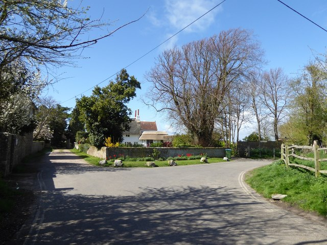 Cottage at the end of Church Lane, Little Welbourne, Pagham
