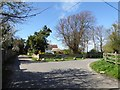 SZ8797 : Cottage at the end of Church Lane, Little Welbourne, Pagham by Rob Farrow