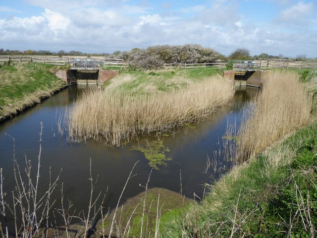 Sluice Gates, Pagham Harbour