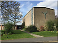 SP2878 : St Oswald's Church, Jardine Crescent, Tile Hill, west Coventry, from the east by Robin Stott