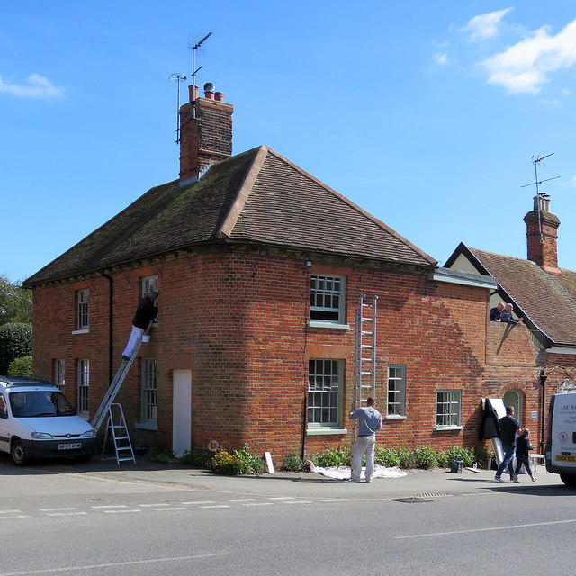 Orford: at work on Corner House