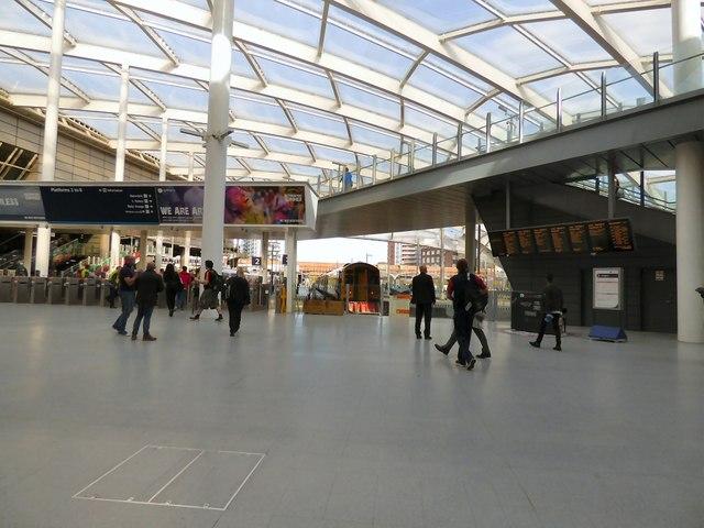 Manchester Victoria concourse