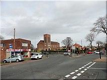 NZ3855 : Junction of Silksworth Lane with Queen Alexandra Road by Robert Graham
