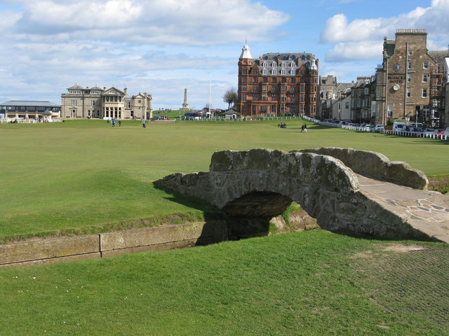 18th Hole (Tom Morris), Old Course, St Andrews