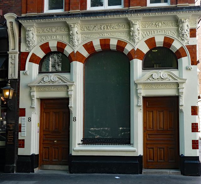 Detail of 8 Storey's Gate