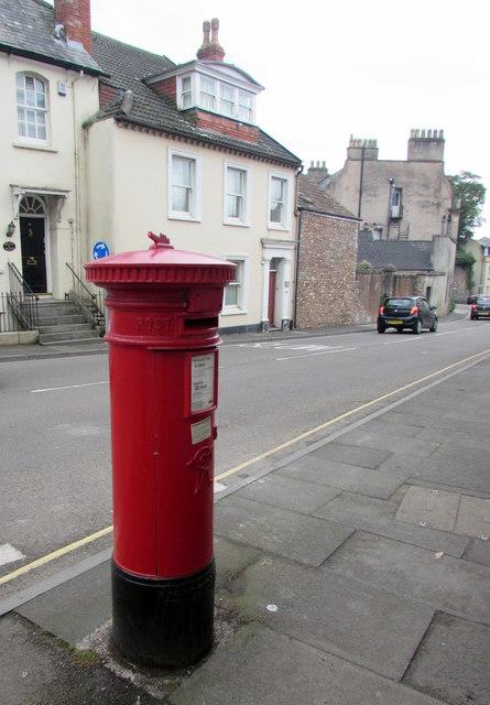Victorian pillarbox, New Street, Wells