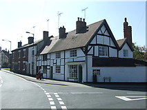 SP0957 : Shops and houses on Henley Street, Alcester by JThomas