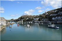 SX2553 : Looe - a view from the bridge by Trevor Harris