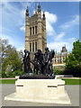 TQ3079 : The Burghers of Calais Monument, Victoria Tower Gardens by PAUL FARMER