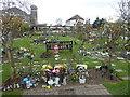TQ2969 : The Lavender Garden, Streatham Park Cemetery by Marathon