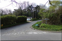 TM3569 : Mill Road, Peasenhall by Geographer