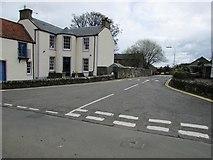 NO2507 : Road to car park, Falkland by Bill Kasman