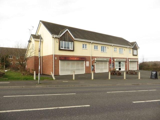 Village shops, Widdrington Station