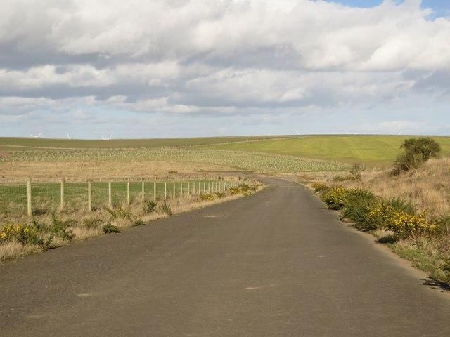 Former coal hauling road