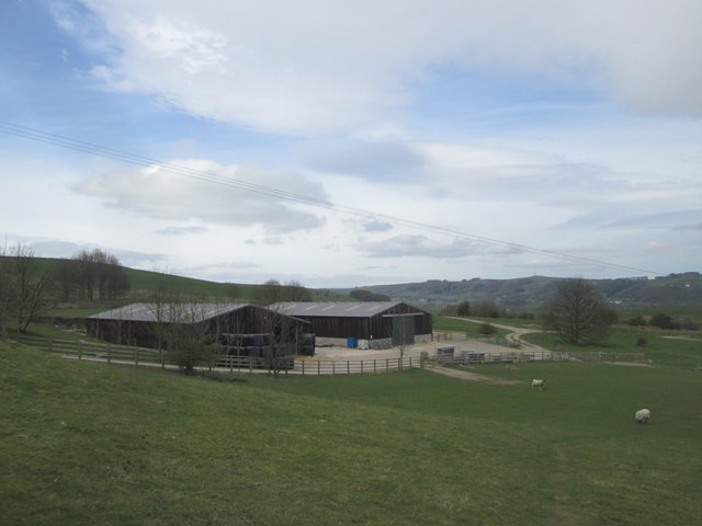 Farm buildings near Deep Rake
