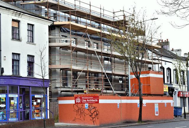 Nos 138A Lisburn Road, Belfast (April 2017)