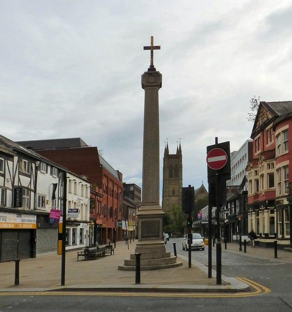 Bolton Market Cross, Churchgate